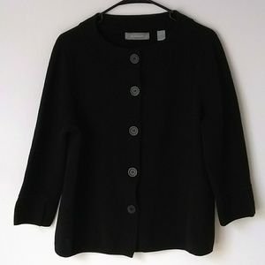 Liz Claiborne Black Cardigan Sweater